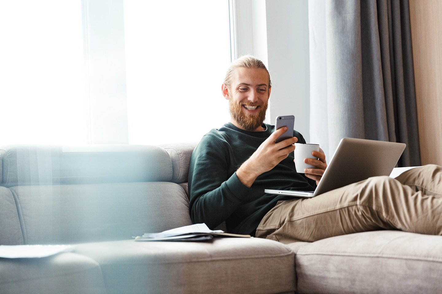 How covid has affected customer habits include technology at home